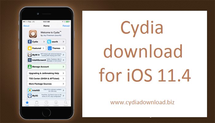 cydia download for ios 11.4